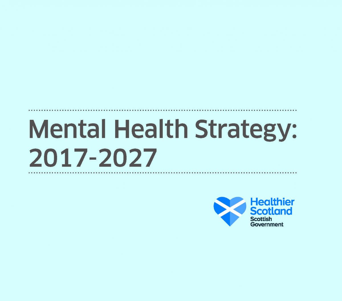 Mental Health Strategy 2017-2027 Cover