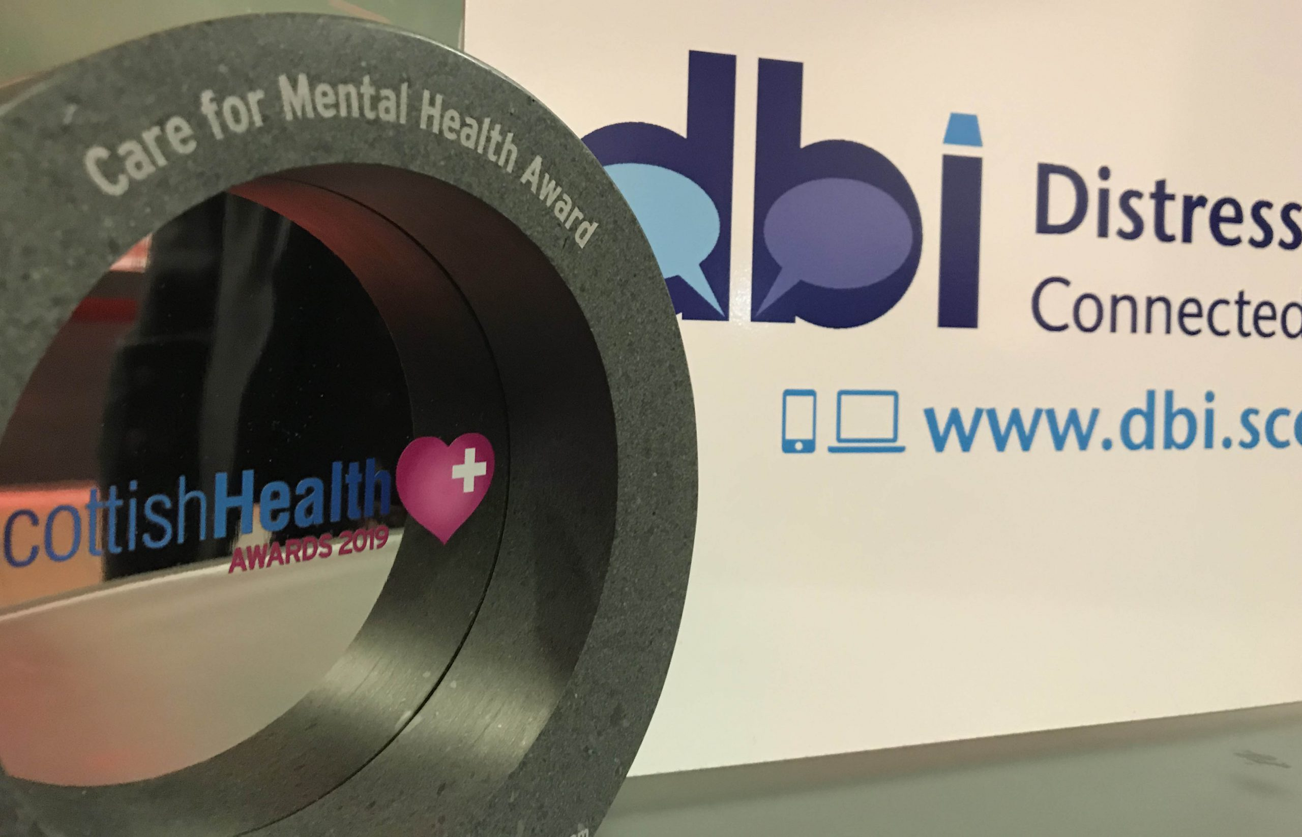 DBI wins prestigious Scottish Health Award