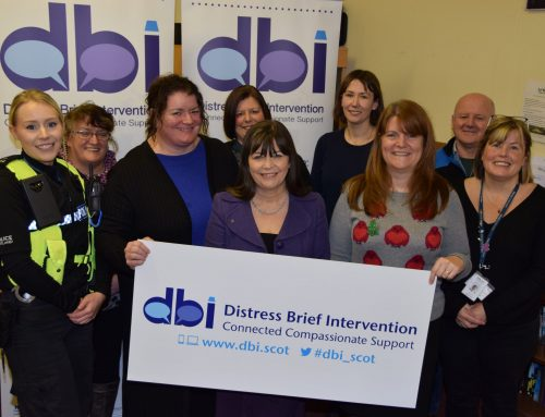 Minister for Mental Health visits Borders