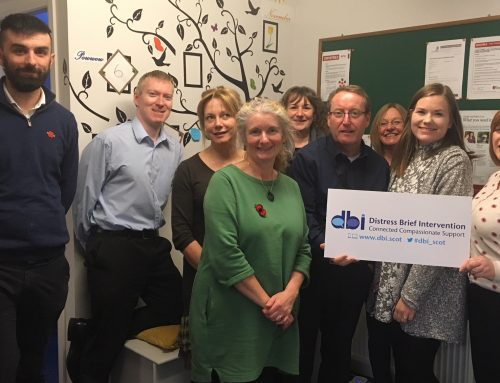DBI visit to new associate programme members in Moray