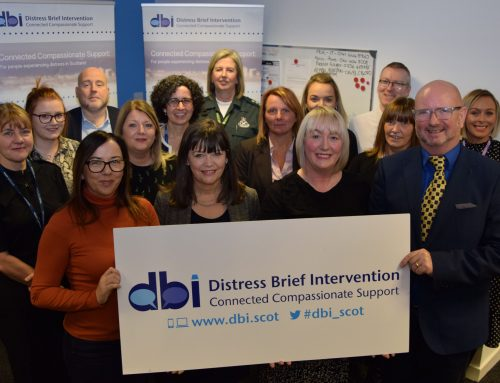 Interim evaluation shows DBI helping people in distress