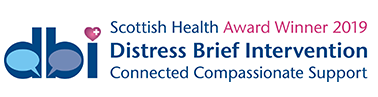 Distress Brief Intervention Scotland Logo